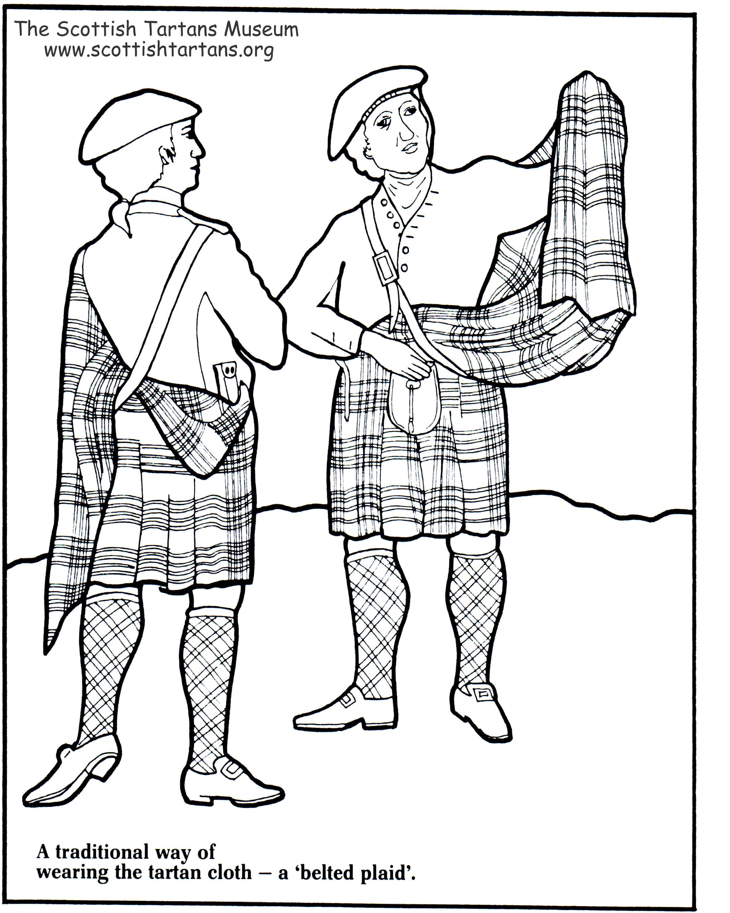 Clip Art Scotland Coloring Pages scottish coloring pages eassume com eassume